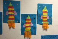 espace planètes étoiles Des fusées algorithmiques....