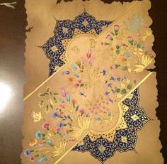 Islamic Art Pattern, Mandala Pattern, Pattern Art, Iranian Art, Turkish Art, Acrylic Painting Techniques, Islamic Calligraphy, Horse Art, Arabesque