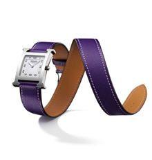 la montre 'heure h' d'hermès