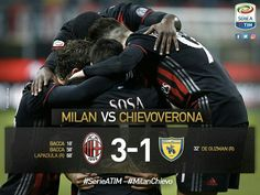 Serie A TIM Week 27: Milan 3-1 Chievo