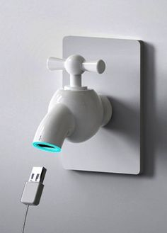 Turn Tap for USB Power