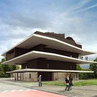 NEST core building