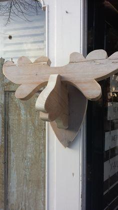 Eland met houten gewei