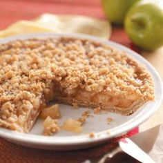 Favorite Dutch Apple Pie Recipe from Taste of Home