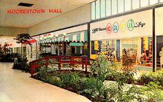 Moorestown Mall, New Jersey circa 1961