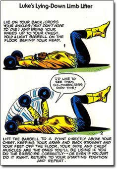 The Might Marvel Comics Strength and Fitness Book | Retronaut