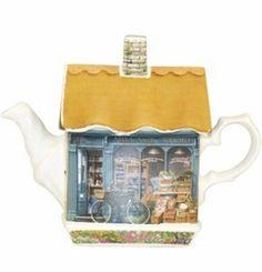 Village Store Teapot - James Sadler James Sadler Teapots