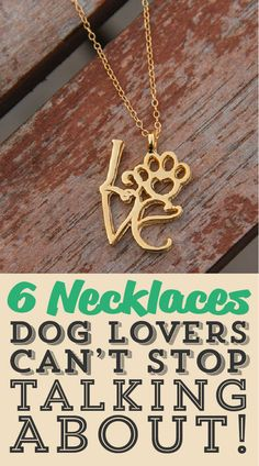 6 necklaces dog lovers can't stop talking about!