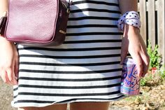 stripes / accessorized for the weekend