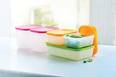 Organize any freezer with our Freezer Mates® containers! Designed for faster, more efficient freezing and thawing.
