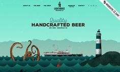 Lighthouse Brewing Company website