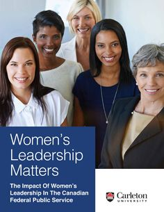 Women's Leadership Matters cover photo with 5 women on the cover