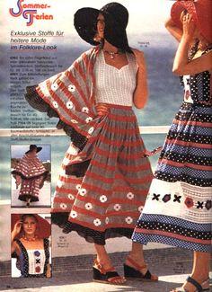 Burda moda veraniega 1975