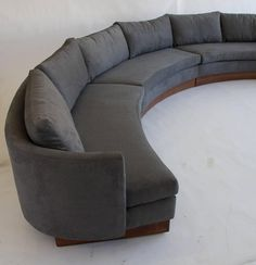 Modern Furniture North Carolina very rare three-part english settee | settees and english