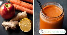 Lemon Ginger Carrot Juice