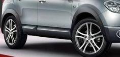 Nissan Qashqai 2010 Side Wheel Arch Mouldings New + Genuine KE760BR080