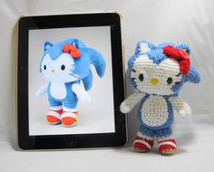 Hello Kitty: in Sonic the Hedgehog by OrangeZoo, via Flickr