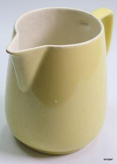 grosse Melitta Milchkanne gelb | eBay 32,-- Höhe 15 cm