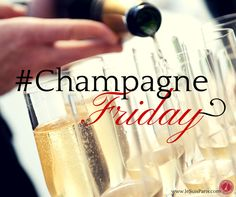 Have you chilled your #Champagne yet? We have... It's #ChampagneFriday!