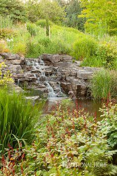 A Calming Garden Paradise | Traditional Home