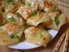 Pork & Ginger Pot Stickers