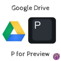 Google Drive: P for Preview I highly suggest you learn one keyboard shortcut a week. You'll be a computer ninja in no time! When you are using Google Drive click on file and press the letter P. This will open a preview of the file. Esc Press the escape key to exit the preview. Next … … Continue reading →