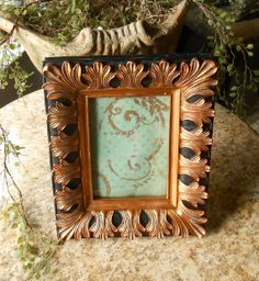 Vintage Florentine Picture Frames by FurnitureFusion on Etsy, $22.00