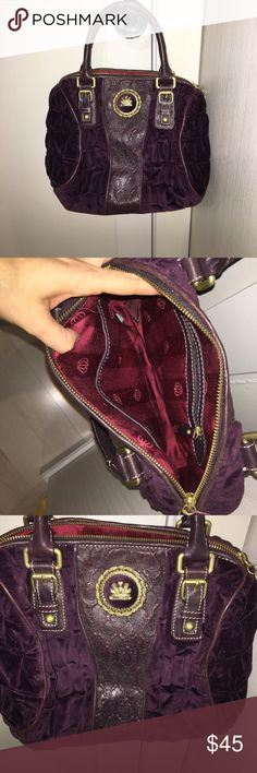 Authentic Juicy Couture boho bag Like new in great condition Juicy Couture Bags Totes