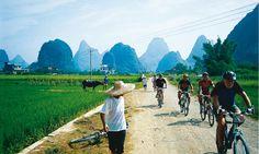 Cycling Ninh Binh, Vietnam