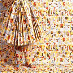 Peruvian artist, photographer, and stylist Cecilia Paredes has taken what has become a joint medium and created her acclaimed human wallpaper