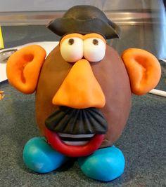 Tarta Mr Potato