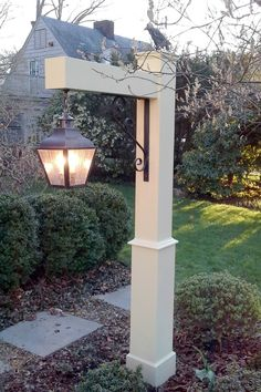 The Portland Pendant Hanging Copper Lantern is a handmade indoor and outdoor lighting fixture made in the USA from solid brass and copper. Driveway Lighting, Backyard Lighting, Outdoor Lighting, Outdoor Decor, Lighting Ideas, Driveway Entrance, Outdoor Lamp Posts, Outdoor Post Lights, Front Yard Landscaping