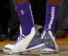 LeBron James has worn Nike LeBron and more all season. Lebron 7, Lebron James, James Best, Best Basketball Shoes, Bo Jackson, Colorful Shoes, Houston Rockets, Boston Celtics, Nba Players
