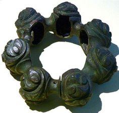Hollow cast bronze ankle ring (3rd century BC), from Aholming (Vilshofen – Bavaria)