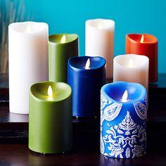 Luminara Candles US special editions!