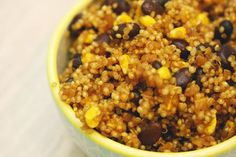 In The Kitchen With Honeyville: Quinoa & Black Beans