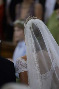 Bridal inspiration from the royal wedding of Madeleine & Christopher { Stockholm, 8 June 2013 }