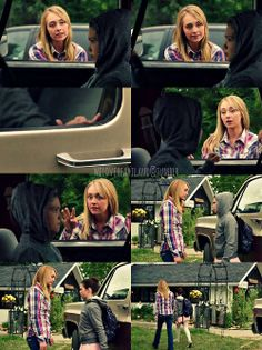 Heartland   7x06 - Now or Never  Amy: Georgie, open the door! Georgie!!   Georgie: I'm not going. You can't make me.   Amy: It's. just. one. class. If you don't like it, you don't have to go back, but Lou wants you to give a chance, please? (Georgie ignores her) Georgie! (runs over to the driver's side door, but Georgie locks that just as she gets to it)