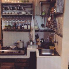 kitchenset of pallet