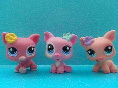 littlest pet shop triplet piglets