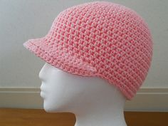 Ravelry: Crochet Hat with Brim pattern by Teresa Richardson