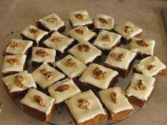 Infinito e ...: Quadradinhos de abóbora - sabores de outono