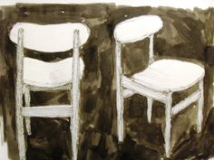 Parker Chairs, pen and ink, wearesoarty.blogspot.com.au