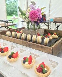 Afternoon Tea Dessert Canapes Cake Tart