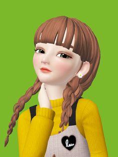 Girl Cartoon, Cartoon Art, Sarra Art, Face Stickers, Cute Dolls, Lock Screen Wallpaper, Ariana Grande, Disney Characters, Fictional Characters