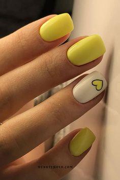Short Nail Manicure, Cute Gel Nails, Summer Gel Nails, Cute Acrylic Nails, Manicure Ideas, Short Nails Acrylic, Shellac Nail Art, Short Fake Nails, Short Nails Art