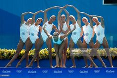 Photo d'actualité : Team Ukraine competes in the Synchronised...