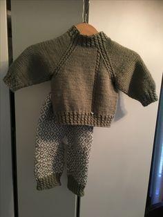 Babysett strikket i bambusgarn🌱🌱