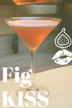 Fig Kiss - makes 2 cocktails:  -3 ounces St-Germain Liquer   -1 ounce Figcello   -2 ounces cranberry juice   -fresh mint or lemon twists, for garnish   Combine the St-Germain, Figcello, and cranberry juice in a cocktail shaker. Top with ice. Shake vigorously to incorporate and strain into chilled martini glasses. Garnish with mint or lemon twists, kick back, and enjoy! Hazelnut Praline, Chocolate Hazelnut, Cocktail Shaker, Crab Risotto, Flourless Chocolate Torte, Grilled Flatbread, Spirit Drink, Colorful Cocktails, Candied Bacon