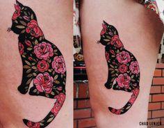 significado da tatuagem de gato
